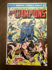 CHAMPIONS #2 Black Widow Ghost Rider (1976) VERY FINE/NEAR MINT!!
