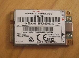 Sierra Wireless MC8775 HSDPA 7.2Mbps 3G HSDPA Card WWAN Card MC8775