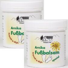 (19,98€/l) 2x Arnika-Fussbalsam Fußbalsam Fußpflege Fuß-Balsam spezial 250 ml
