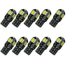 10x T10 LED bombillas de coche lámpara W5 W 8 SMD 5630 LED 194 168 2825 luz