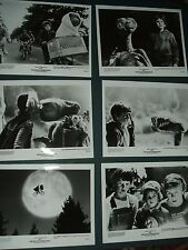 Original E.T. Extra-Terrestrial Movie Press Kit 1982 Photos Steven Spielberg