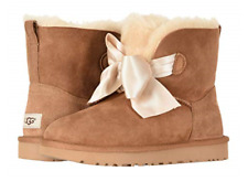 UGG Gita Bow Mini Chestnut Boot Women's US Sizes 5-11/NEW!!!