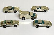 Hot Wheels Golden Machines Gold Chrome Vintage Lot Of 5 Hot Bird Z Ferrari Van