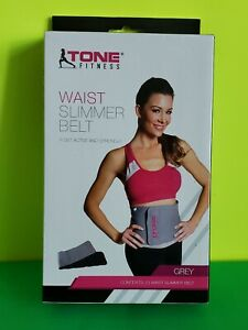 Tone fitness waist slimmer belt new in box
