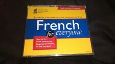 The Learning Company French For Everyone CD-ROM Windows 95 & 3.1 Conversation