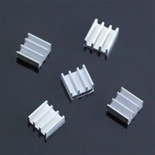 5pcs 11x11x5mm  Aluminum Heat Sink For Memory Chip GA