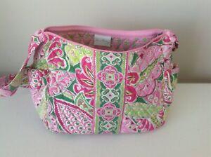 Vera Bradley Pink Pinwheel On the Go purse bag