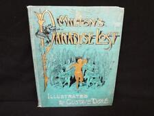 Milton's Paradise Lost Gustave Dore Artemus Edition Lot 281
