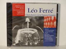 CD ALBUM Chefs d oeuvre de la chanson francaise LEO FERRE CF 008  NEUF