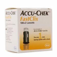 Accu-Check fastclix lancets - 100+2 ea