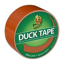 Duck 285227 Color Duct Tape Single Roll 188 Inches X 20 Yards Terracotta