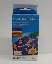 NT Labs Pond Health Check Water Test Kit - Nitrite, pH and Ammonia Koi Fish