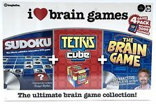I Love Brain Games - Sudoku Tetris & DVD Quiz Game - 1996 New and Sealed