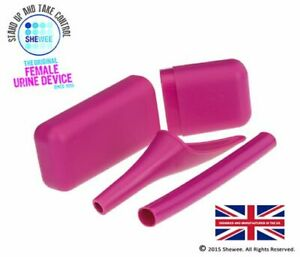 SHEWEE Extreme Reusable Pee Funnel - Pink