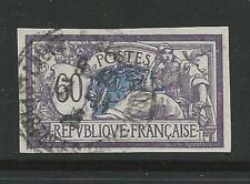 FRANCIA - 1906 /20 Merson - n.°144b usato R varietà : NON dentellato cat. 650 €
