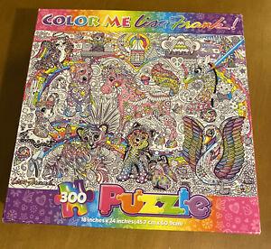 Lisa Frank Color Me 300 Piece Puzzle (Open Box)