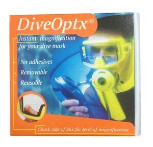 DiveOptx - Hydrotac Lenses - NEOPTX - Dive Lenses +3.00