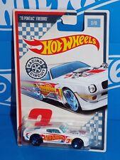 Hot Wheels 2017 Wal-Mart Racing Circuit Series #3 '70 Pontiac Firebird White