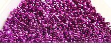 8g Miyuki Delica Galvanized Magenta 11/0 seed beads 0431