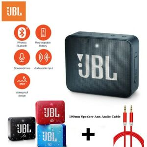 Original JBL GO 2 Portable Wireless Waterproof Bluetooth Mini Speaker Outdoor
