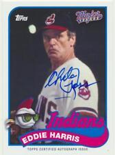 2014 Archives Major League Autograph Eddie Harris Chelcie Ross Movie NM/M