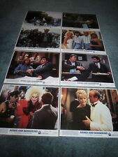ARMED AND DANGEROUS(1986)JOHN CANDY ORIGINAL COLOR STILL SET OF 8 MINT UNUSED+