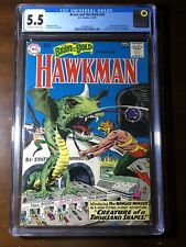 Brave and the Bold #34 (1961) - 1st Hawkman and Hawkgirl - CGC 5.5 - Key!