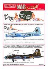 Kits World Decals 1/48 B-17G FLYING FORTRESS Shoo Shoo Shoo Baby 2 Versions