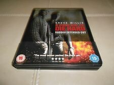 A GOOD DAY TO DIE HARDER Blu Ray STEELBOOK Harder Ext Cut Bruce Willis
