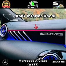 Eaziwrap Mercedes A Class A35 AMG Interior Dash Decal Sticker - A45 A180 A220 +