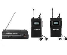 Takstar WPM-200 UHF Wireless Monitor System Stereo 1* Transmitter + 2* Receivers
