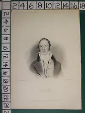 1834 DATED PRINT ~ M. G. LEWIS
