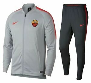 🔥 Nike AS Roma 2018/19 Squad Training Tracksuit | Men's L Large | 919977-014 🔥