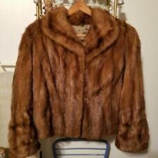 Woman's Vintage 40's or 50's Genuine Mink Jacket