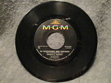 """45 RPM 7"""" Record Hermans Hermits My Reservations Been Confirmed & Dandy K13603"""