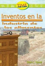 Invenciones en la industria de la comida: Fluent (Nonfiction Readers)