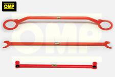 OMP Strut Brace Combo 3 Set per SEAT IBIZA MK2 1.9 TDI