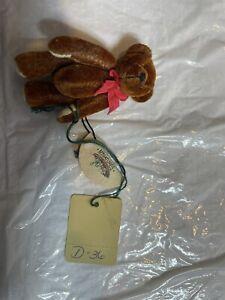 Ganz Cottage Collectibles Miniature Teddy Bear RUSTY Lynda Kunz NEW! Miniatures