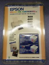 Epson Stylus Color Ink Jet Printer Cartridge S020089 400 600 600Q 800 800N 850