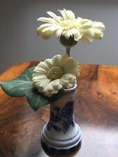 Zwiebelmuster Vase um 1900 Unterglasur Blau, Fa. Teichert Stadt Meißen/Sachsen