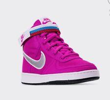 Girls Nike Vandal High Supreme Fuchsia 7y