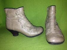 Tan Miz Mooz Claudia Ankle Boots 7.5 38