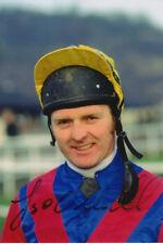 JONJO O'NEILL HAND SIGNED 6X4 PHOTO HORSE RACING 2.