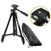 Professional Digital Camera DSLR Camcorder Pan Head Tripod for Sony DSLR s