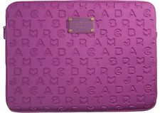 "Marc by Marc Jacobs Laptop Sleeve Case 11"" Dreamy Logo Pop Orchid NEW"