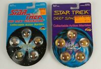 Star Trek The Next Generation And Deep Space Nine Marbles 1993 Vintage