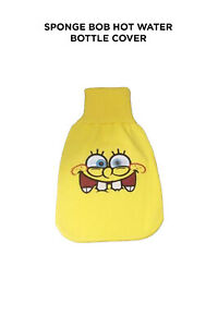 Sponge Bob Hot Water Bottle with cover