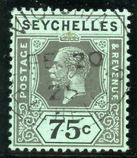 Single George V (1910-1936) Seychelles Stamps (Pre-1976)
