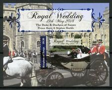 Tonga 2018 MNH Prince Harry & Meghan Royal Wedding 1v S/S Royalty Stamps