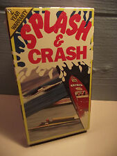 NEW SEALED Splash & Crash VHS 1989 Grand Prix Powerboat Races Wipe Outs Summer